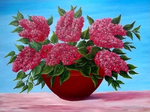 akciós festmények, orgona csendélet orgona festmények festmény virág, festmények virágokról, virág csendélet festmények, virág festmények, virágcsendélet, virágok festményeken, olajfestmények